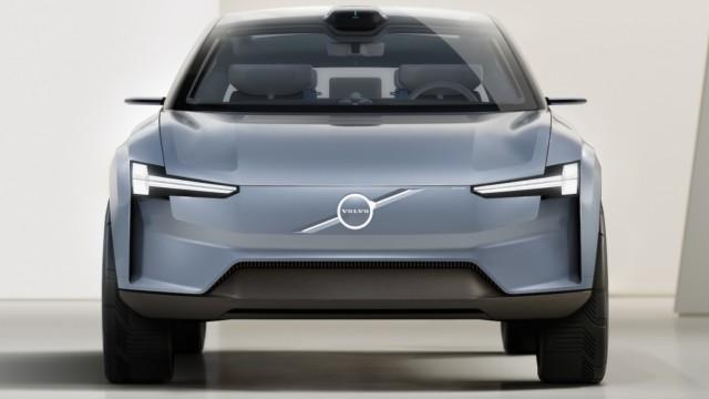 Volvo logo konsepti Volvon uusi logo